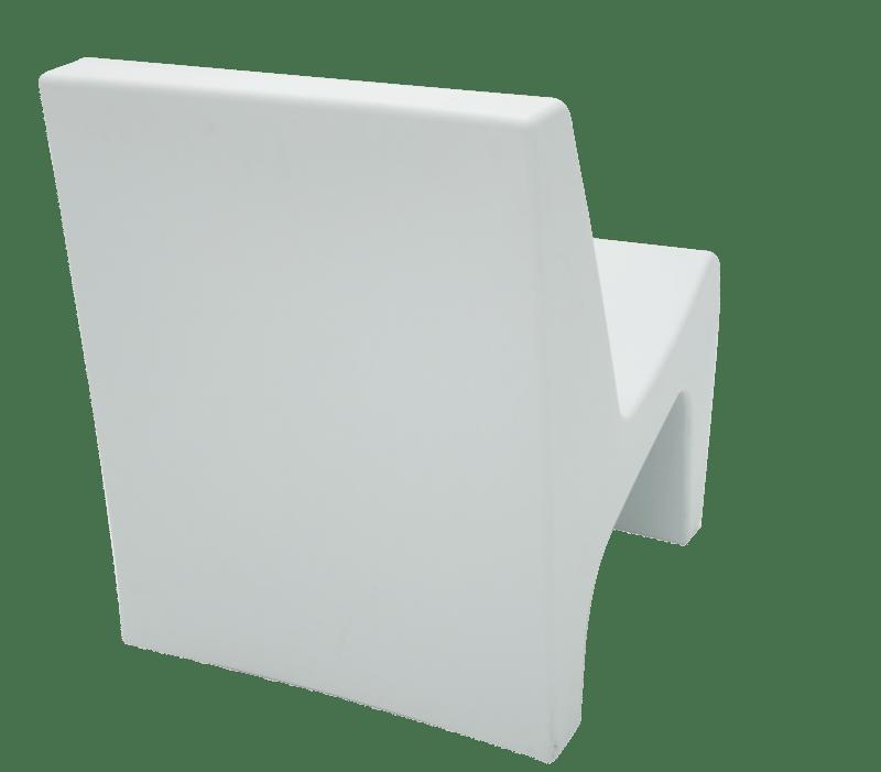 Poltrona Berta Branca em Polietileno Tramontina 92711010