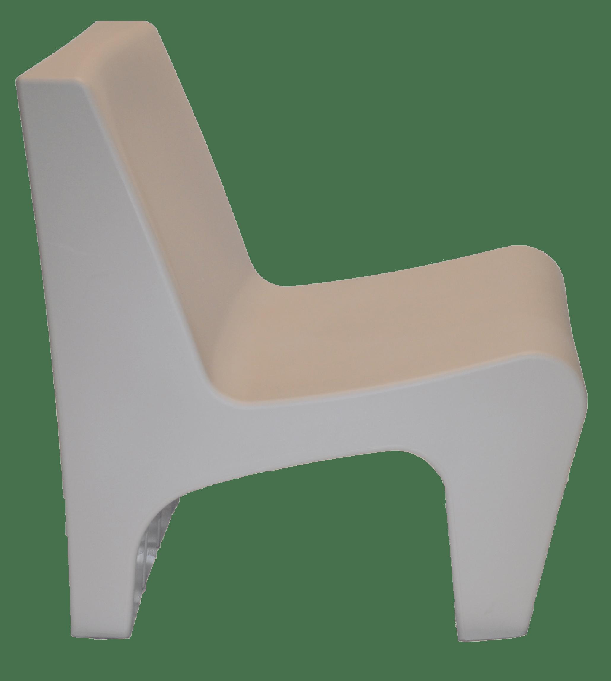 Poltrona Berta Concreto em Polietileno Tramontina 92711210