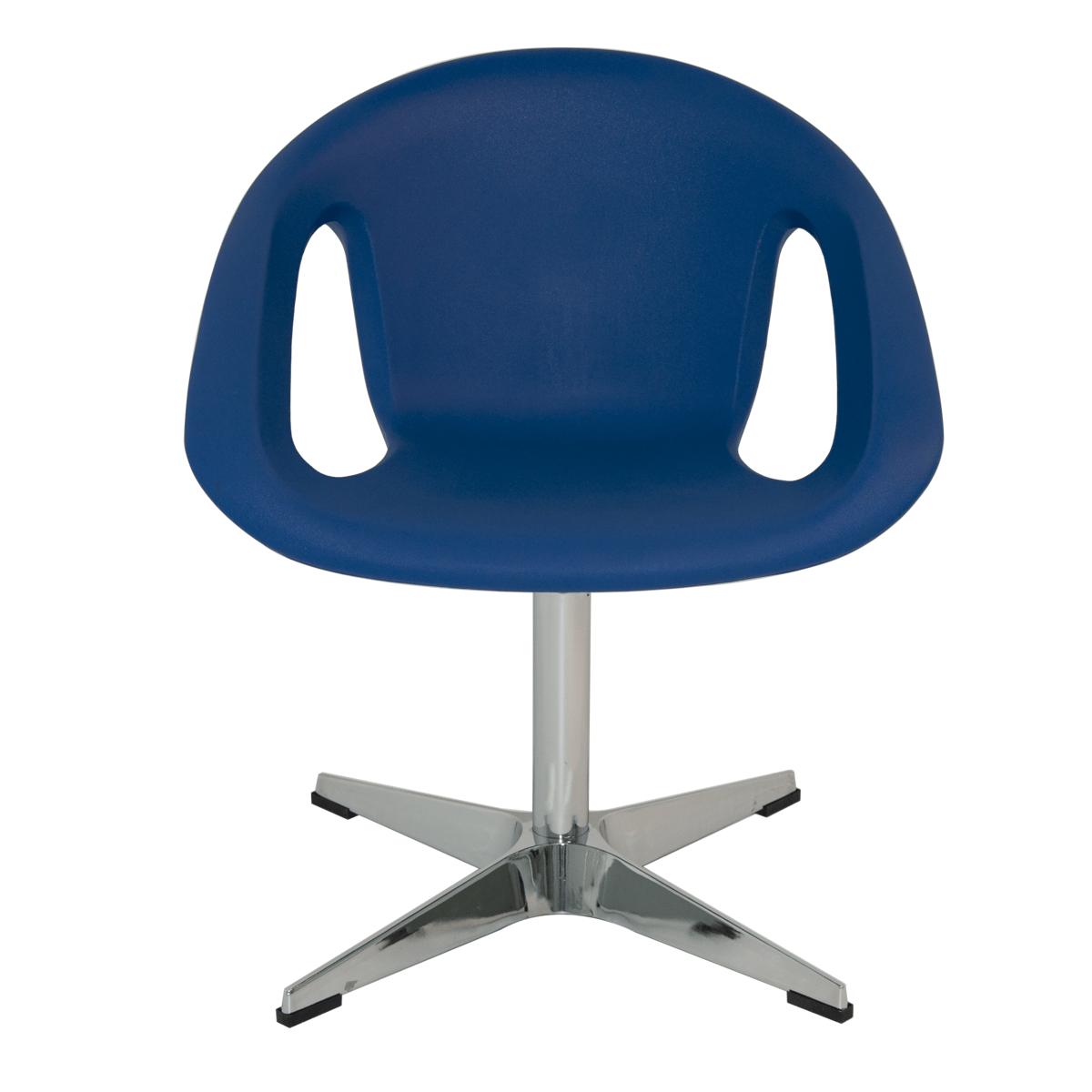 Cadeira Tramontina Delice Mariner em Polietileno com base X 92705030