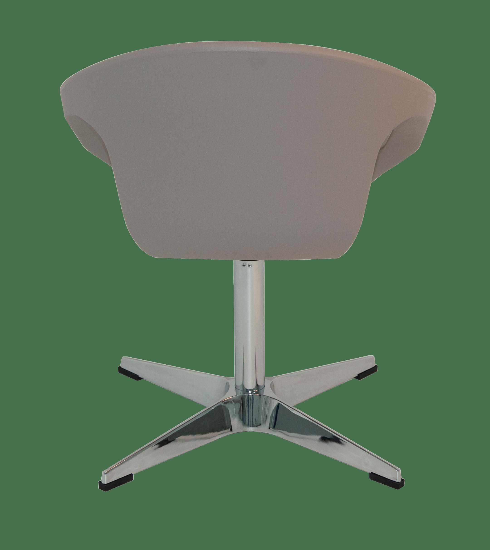 Cadeira Tramontina Delice Concreto em Polietileno com base X 92705210