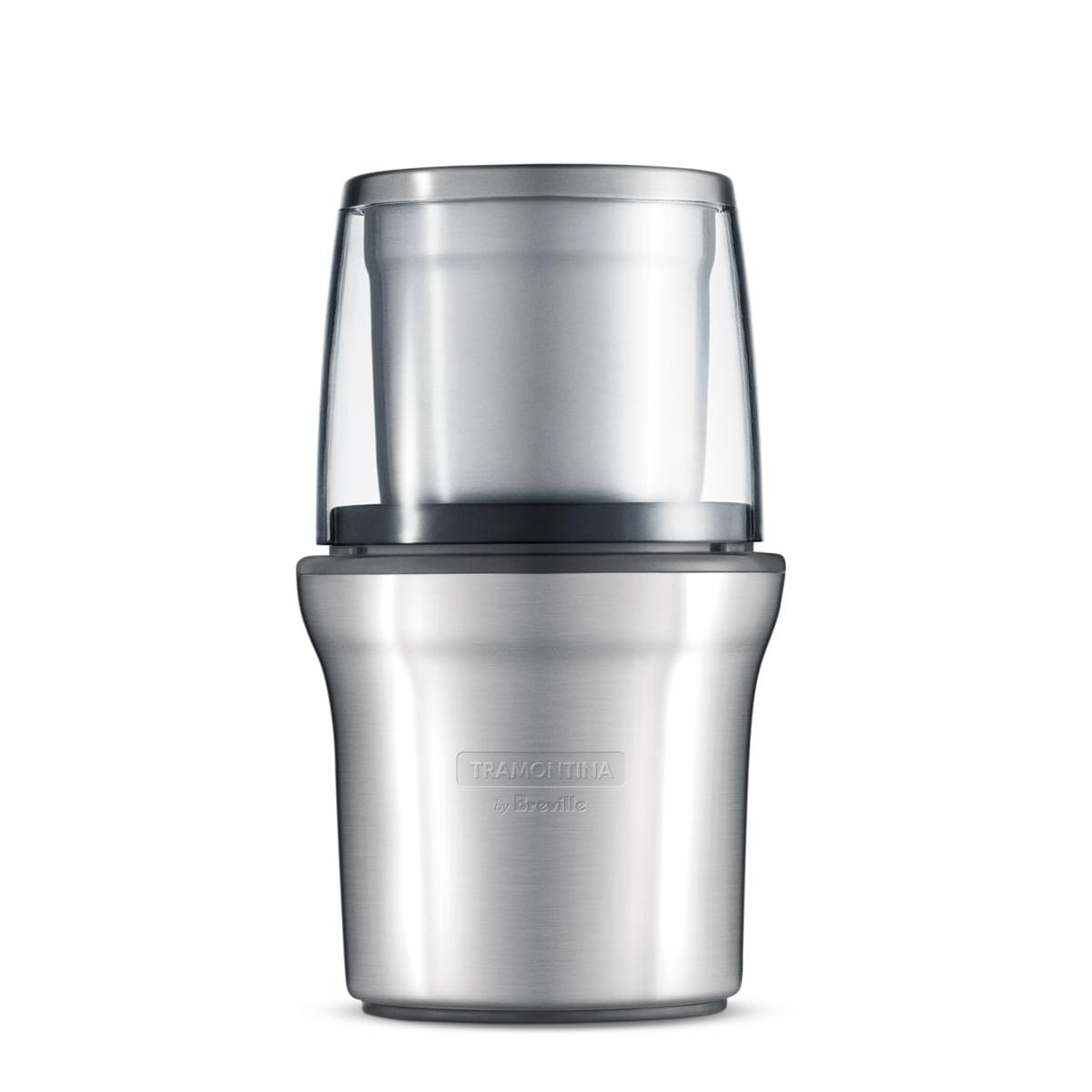Moedor de grãos Tramontina by Breville Coffee & Spice em Aço Inox Fosco
