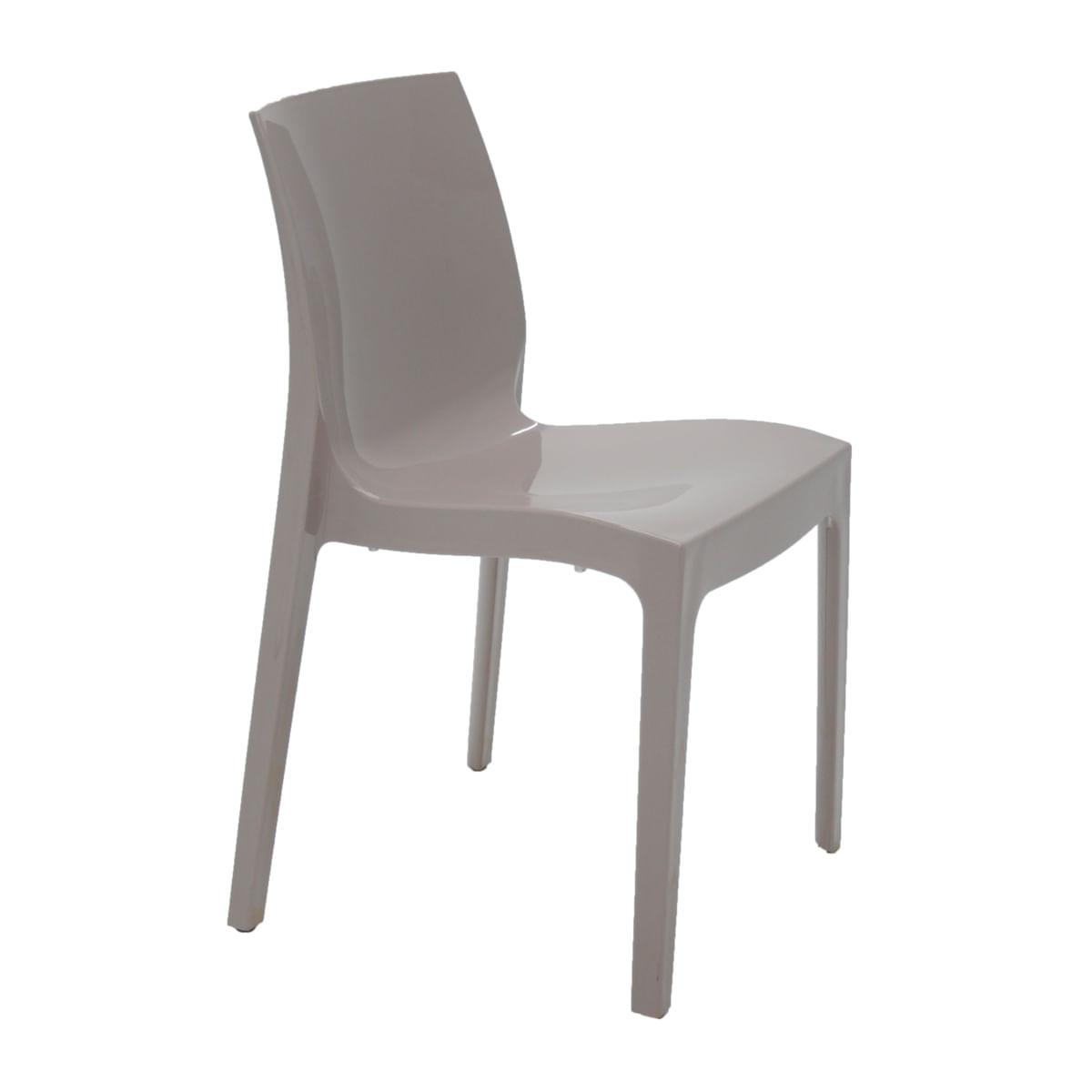 Cadeira Tramontina Alice Polida em Polipropileno Camurça