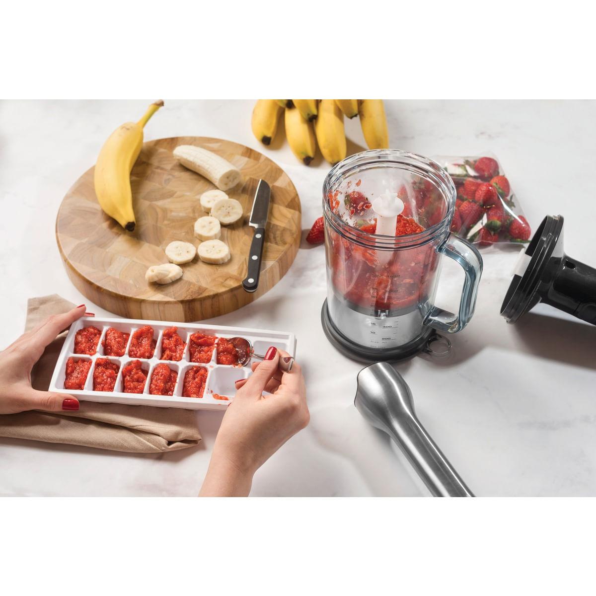 Soft Mixer Tramontina by Breville em Aço Inox com Copo 15 Velocidades