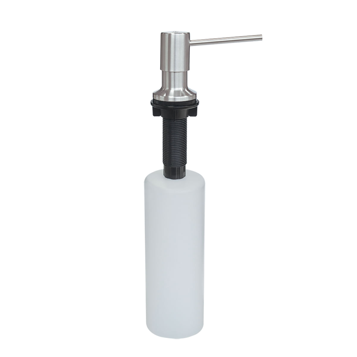 Dosador de Sabão Tramontina 500 ml em Aço Inox com Recipiente Plástico