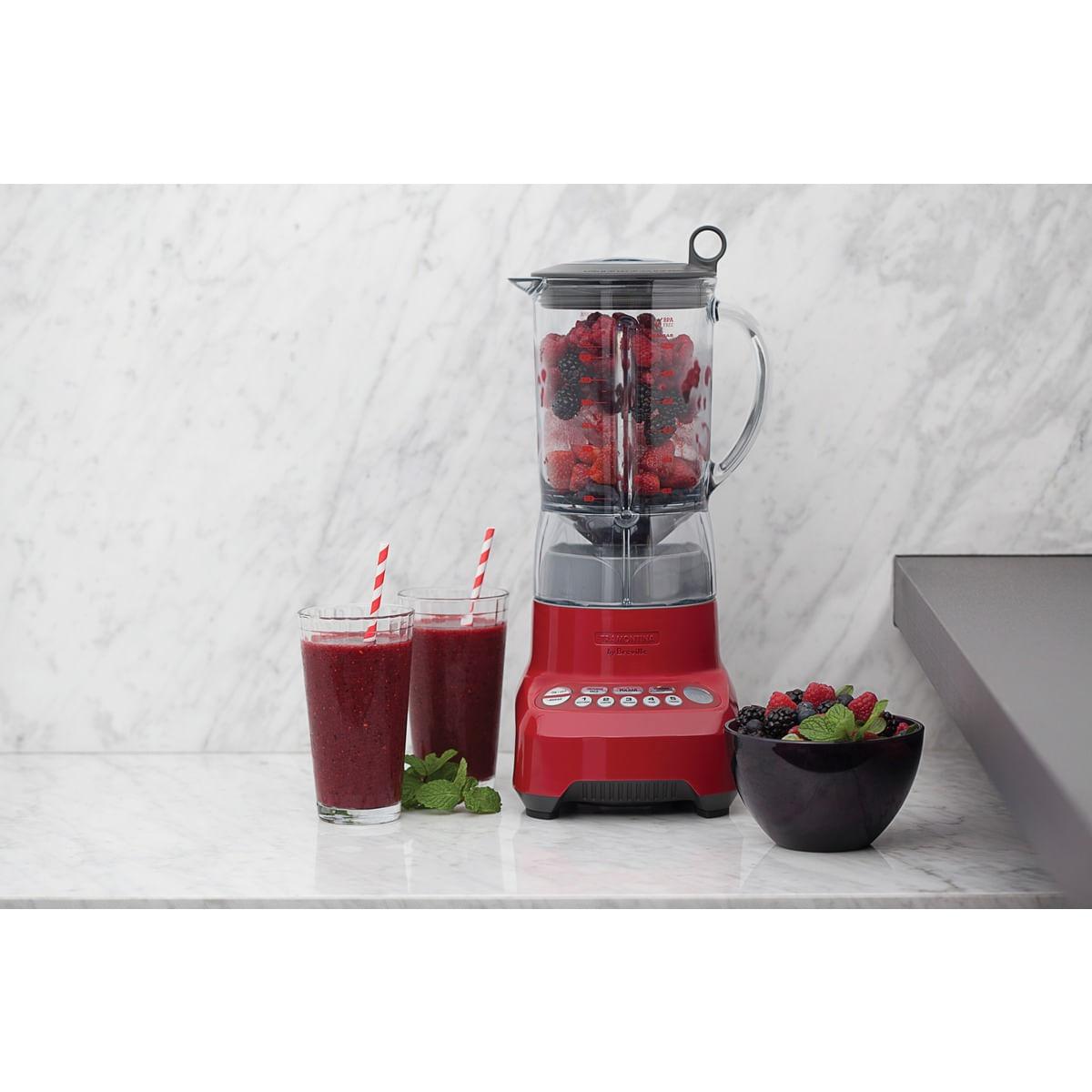 Liquidificador Tramontina Smart Gourmet Vermelho com Copo Tritan 7 Tarefas 1100 W 1,5 L