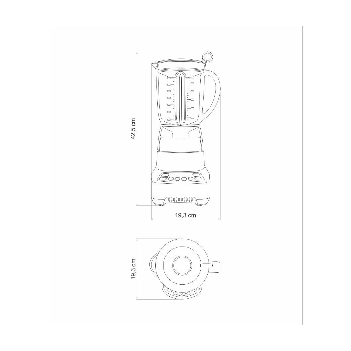 Liquidificador Tramontina by Breville Smart Twist em Alumínio Fundido Fosco com Copo de Tritan 1,4 L 800 W