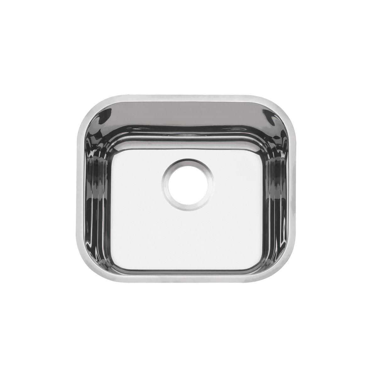 Cuba n.0 Tramontina Lavínia 40 BL Perfecta em Aço Inox 304 Polido 40 x 34 x 14 cm Sem Válvula
