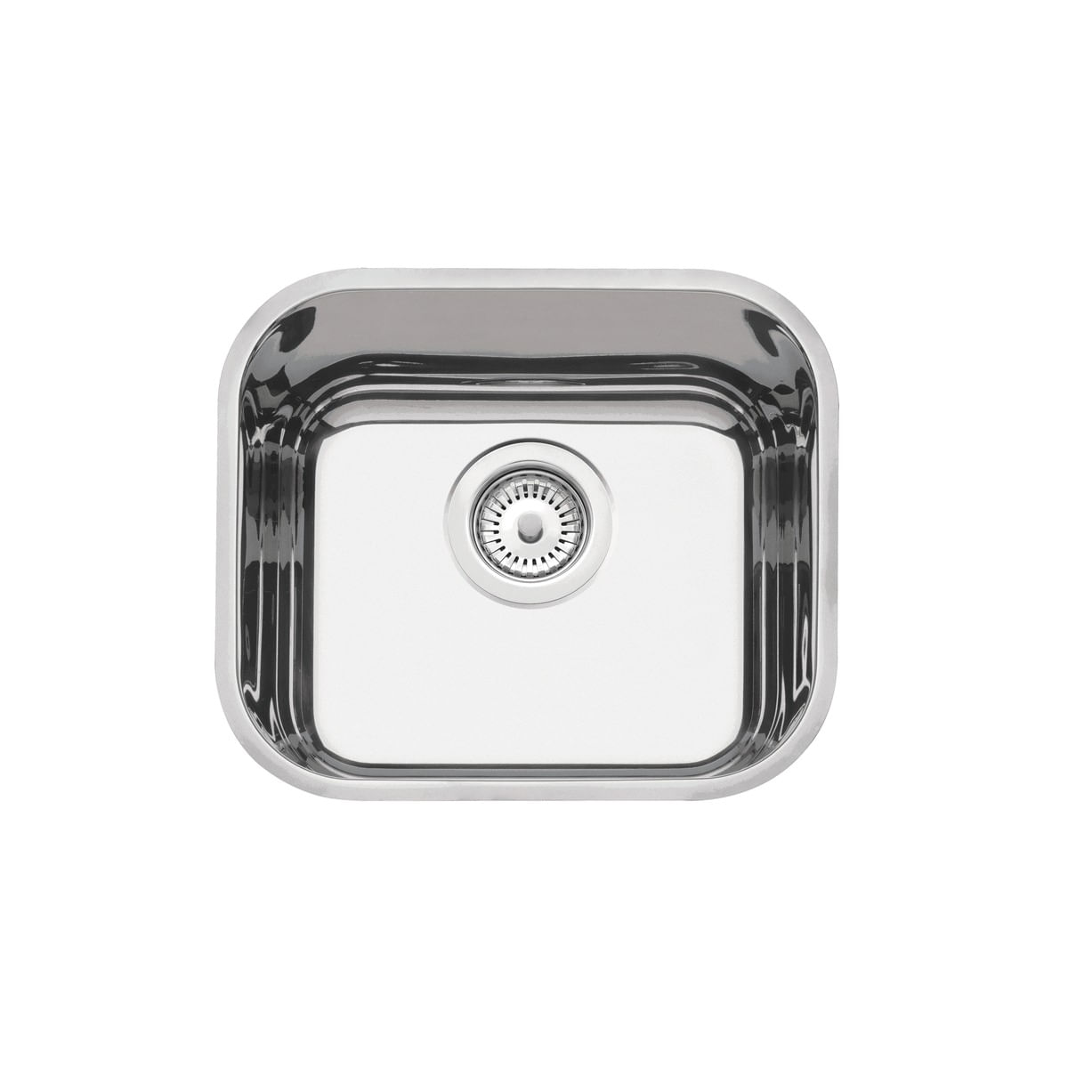 Cuba n.0 Tramontina 40 x 34 x 14 cm Lavínia 40 BL Perfecta em Aço Inox 304 Polido Com Válvula 94050402