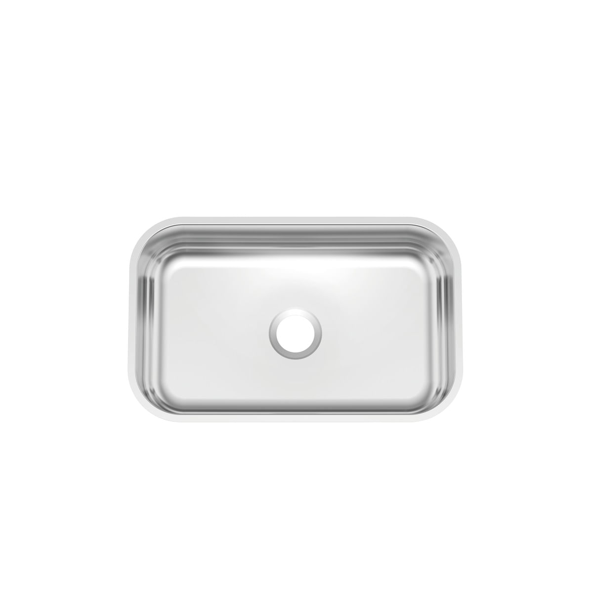 Cuba n.2 Tramontina 56 x 34 x 14 cm Lavínia 56 BL Standard em Aço Inox 430 Polido Sem Válvula
