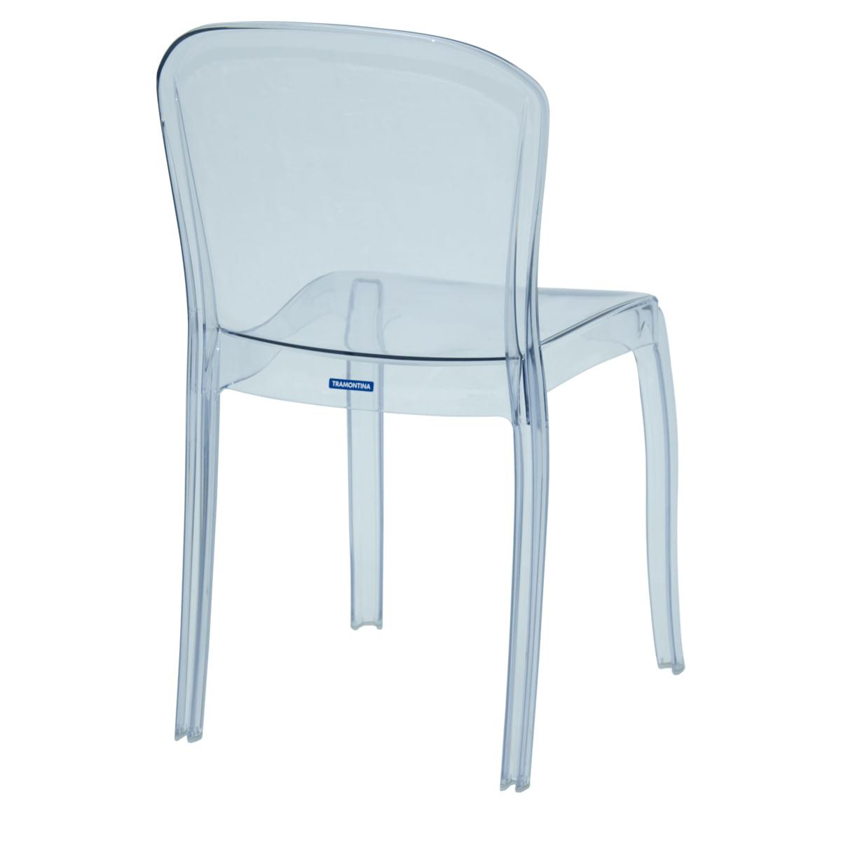 Cadeira Tramontina Anna em Policarbonato Transparente