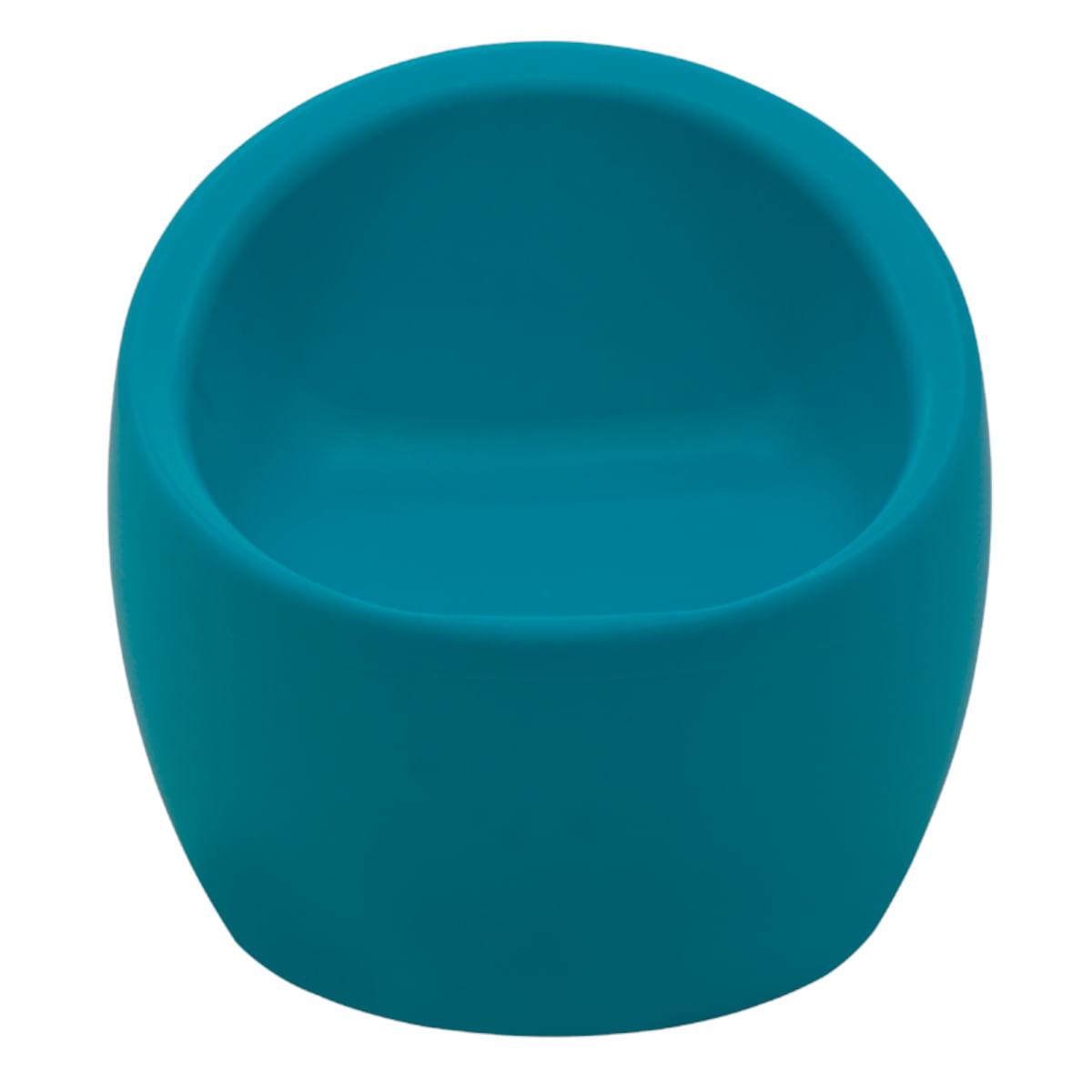 Poltrona Oca Infantil Tramontina em Polietileno Azul