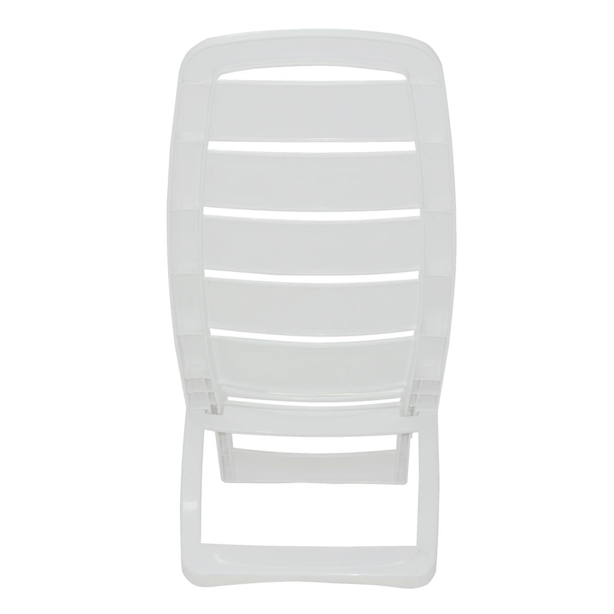 Cadeira Dobrável Tramontina Guarujá em Polipropileno Branco