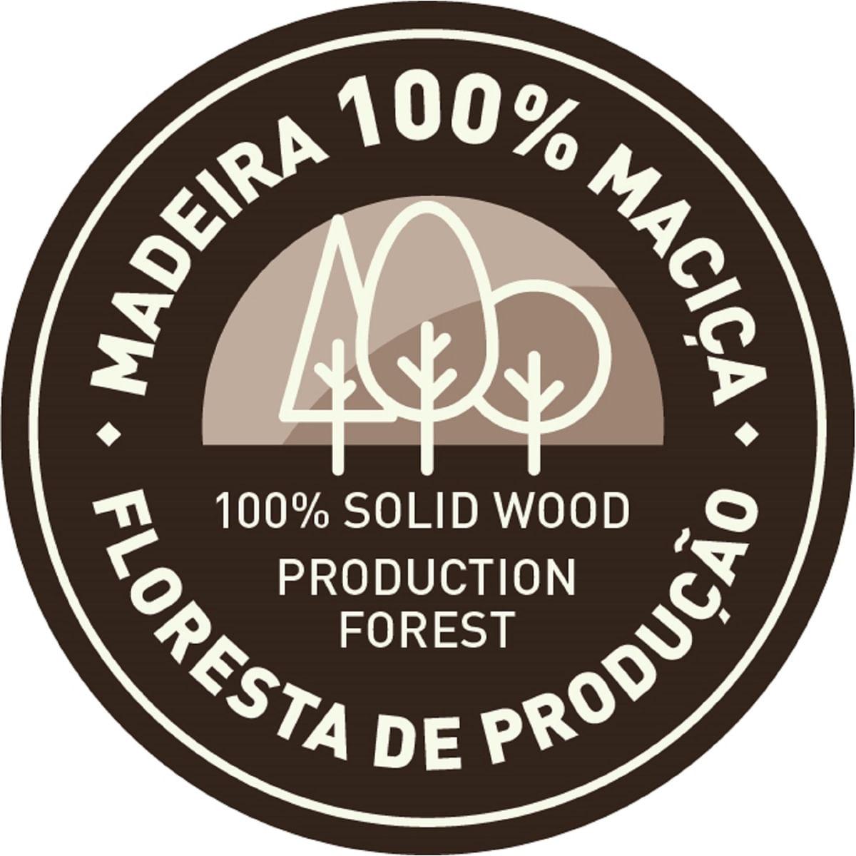 Mesa Tramontina Dobrável de Madeira Natural de Pinus 130 x 80 cm