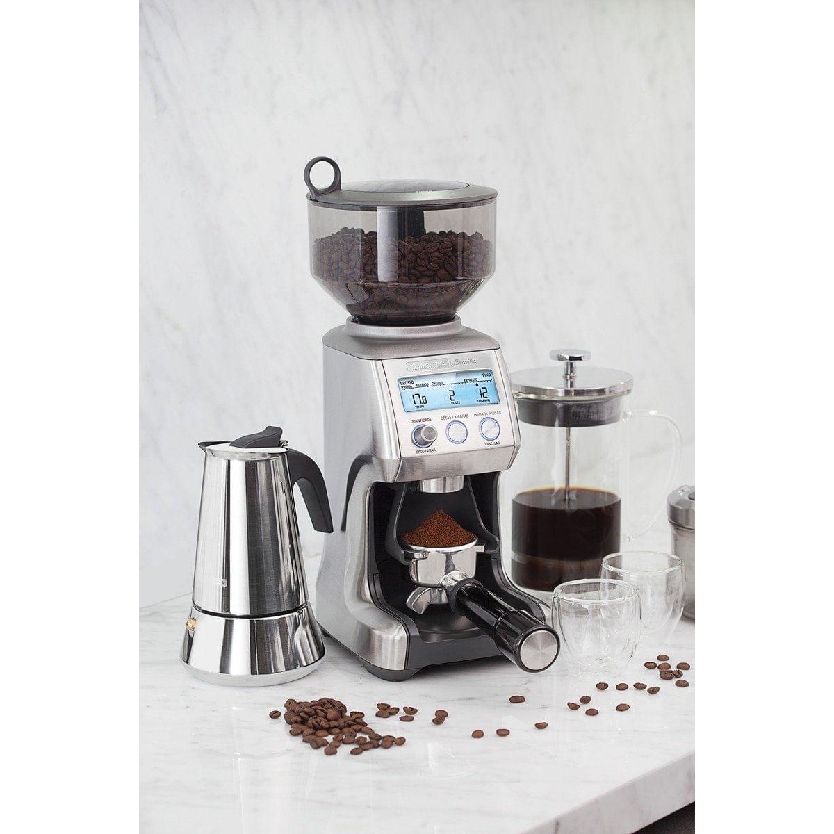 Moedor de Café Tramontina by Breville Express em Aço Inox 60 Níveis de Moagem