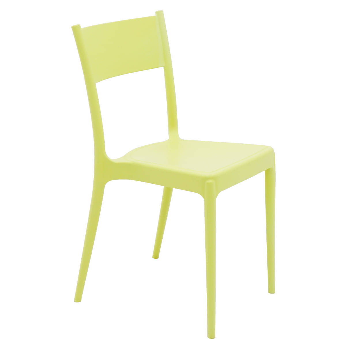 Cadeira Tramontina Diana ECO em Polipropileno Reciclado Amarelo