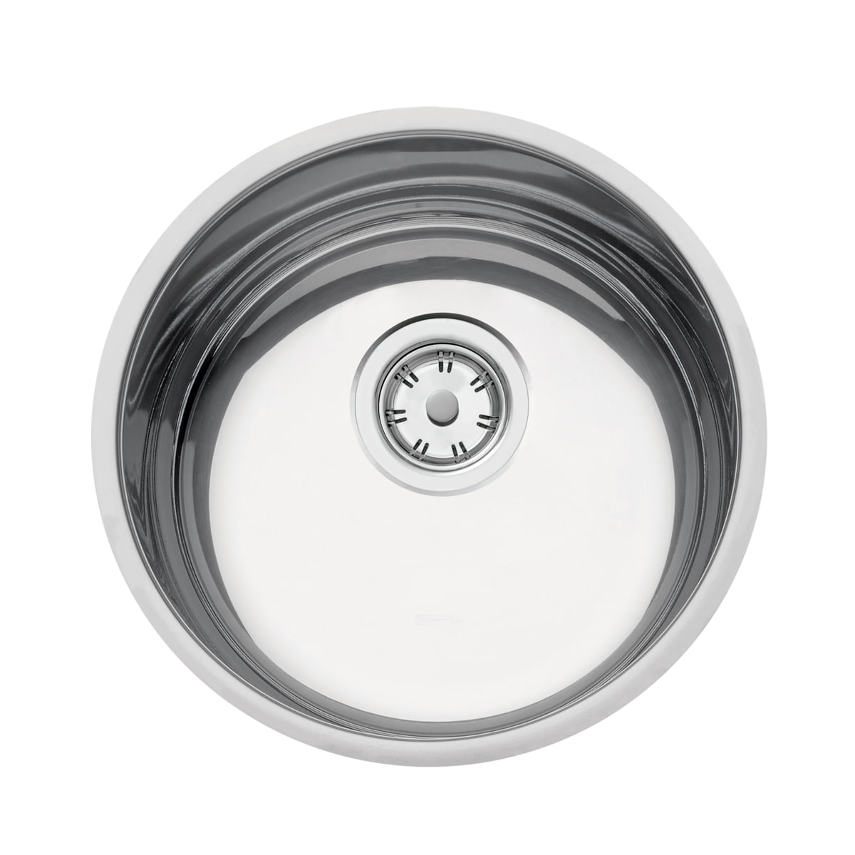 Cuba Tramontina Luna 30 BL Perfecta em Aço Inox Polido 30 cm